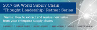 2017 Asia Pacific Value Chain 'thought leadership' Retreat series (1 of 3)