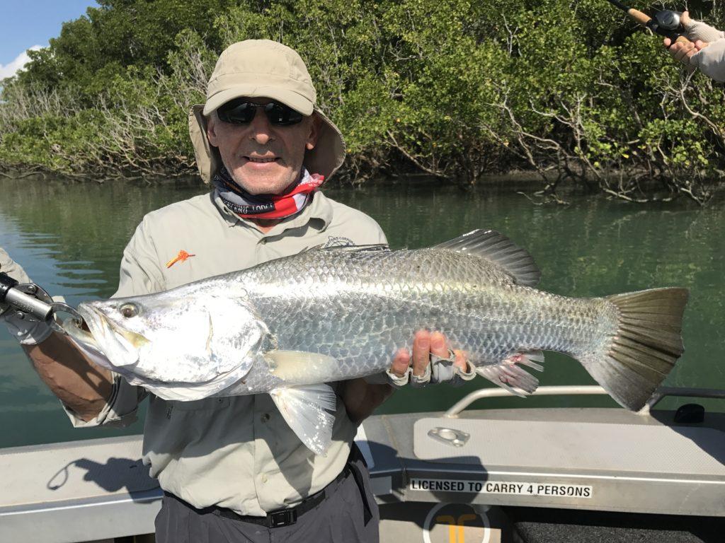 Gone Barramundi Fishing